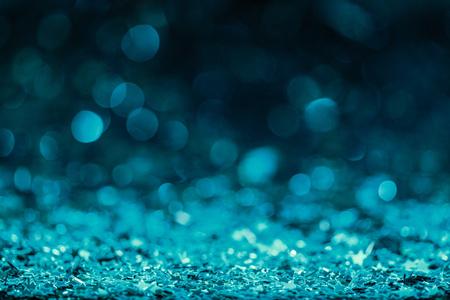 Festive background with shining confetti