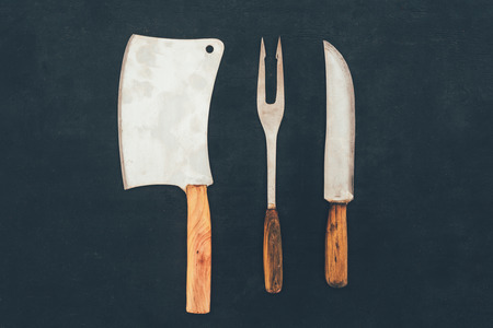 rustic cutlery composition