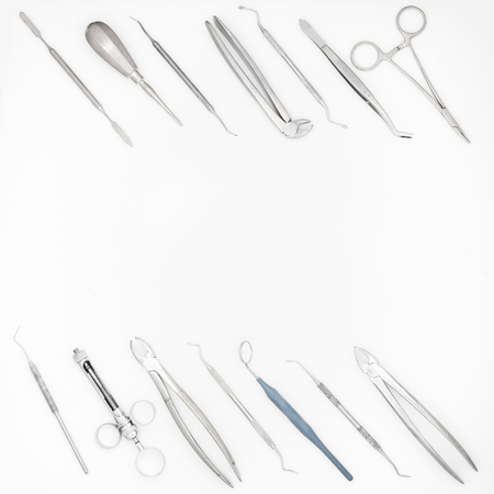 set of dental instruments