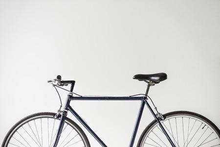 bicycle with saddle isolated on white 版權商用圖片 - 93684044