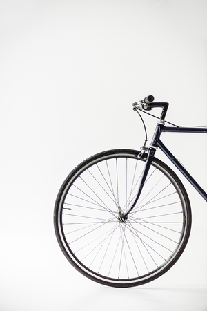one bicycle wheel Reklamní fotografie - 93684068