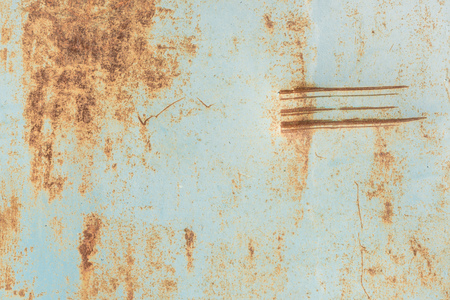 close-up view of old rusty metal industrial background