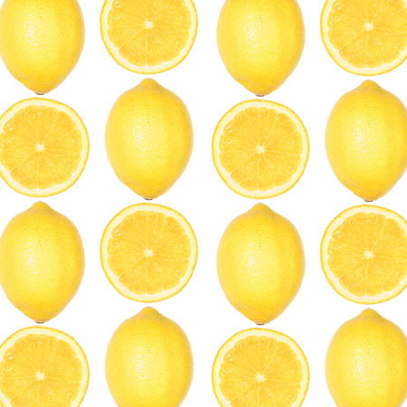 patters made of fresh lemons Banco de Imagens