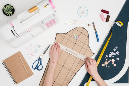 tailor measuring cutting sheet