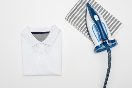 electric iron and textile