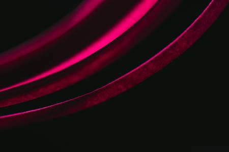 진홍색 줄무늬 종이 검정에보기를 닫습니다