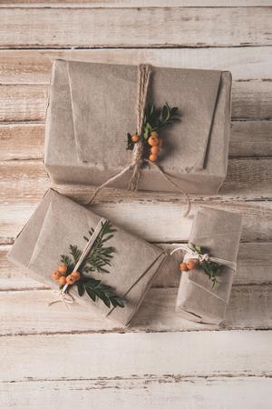 ローワンの装飾とクリスマスプレゼント