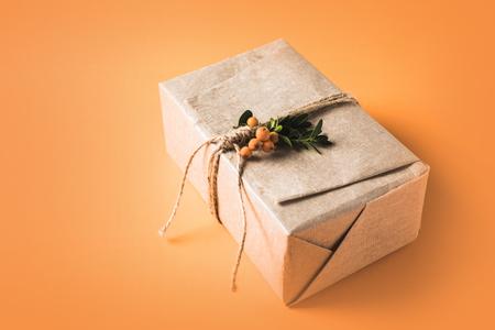 包まれたクリスマスギフトボックス