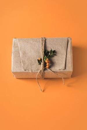 包まれたクリスマスギフトボックス 写真素材 - 94761326