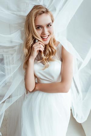 bride in wedding dress Stock fotó