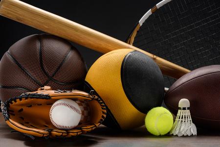 Sportausrüstung Standard-Bild - 95371332