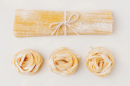 raw pasta composition