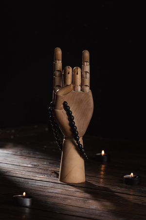 Main avec le geste de mudra mudra Banque d'images - 95170500