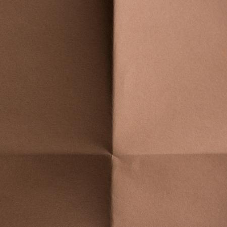 背景のための茶色の折り紙のクローズアップショット