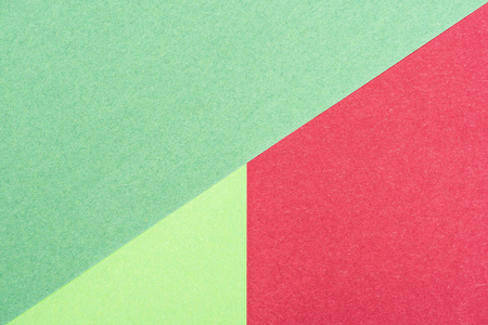 abstract composition made of colored papers for background