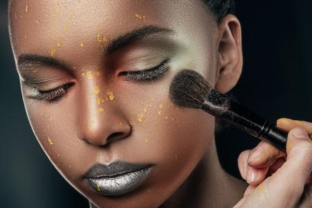 makeup Stockfoto