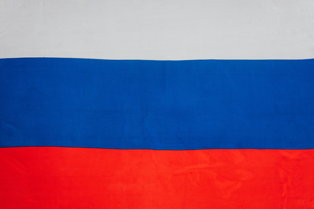close up view of russian flag background Reklamní fotografie
