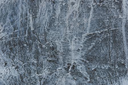 Großaufnahme der grauen alten verwitterten Wandbeschaffenheit Standard-Bild - 98754937