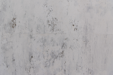 full frame view of scratched white wall background Stock Photo