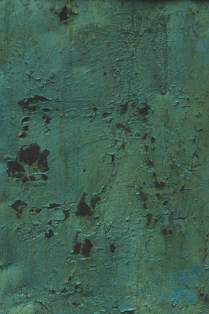 blank green old rusty textured background