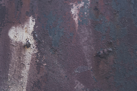 close-up view of old dark wall textured background Banco de Imagens