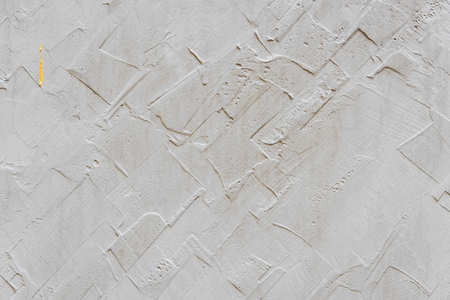 close-up view of blank white plastered wall background