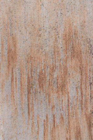 close-up view of old rusty metallic surface