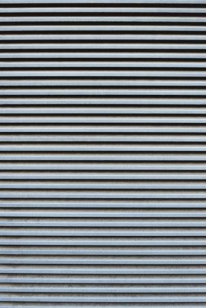 full frame of striped corrugated metal sheet texture Reklamní fotografie - 98756080