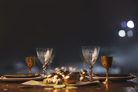 modern table decoration for celebration easter