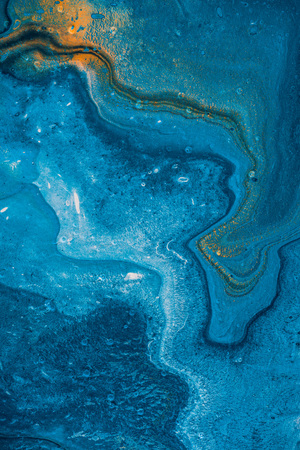 abstract texture with blue oil paint Stok Fotoğraf - 100743452