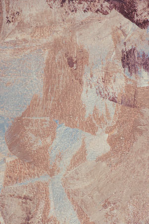 brown and beige brush strokes on abstract artistic painting Stock Photo