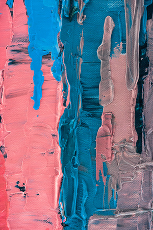 abstract artistic texture with multicolor brush strokes