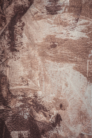 brown brush strokes on abstract artistic background   Stock Photo