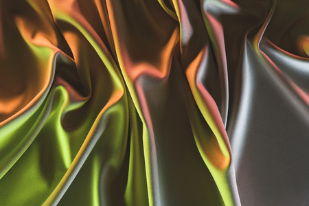 toned picture of elegant folded silk fabric background Stock fotó - 101353673
