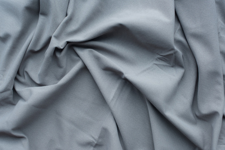 grey folds fabric background