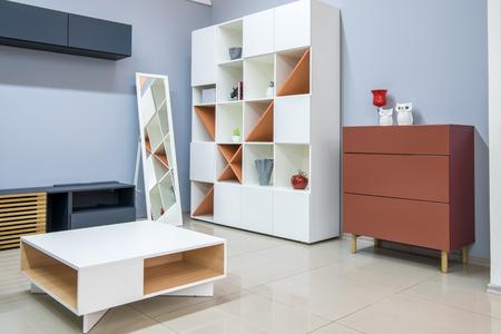 modern living room interior with furniture Zdjęcie Seryjne