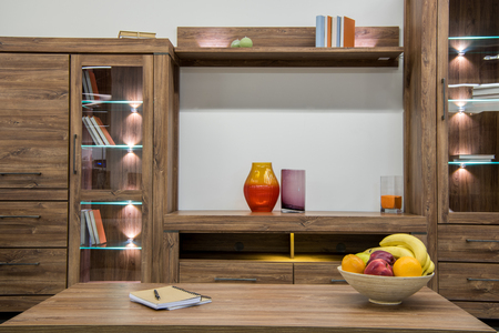 cozy modern living room interior Stock Photo