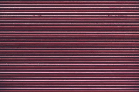 red horizontally striped wall for background Stok Fotoğraf