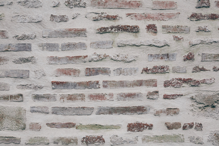 Close-up shot of ancient brick wall for background Stock Photo - 104655787