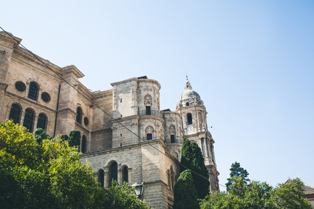 view of catedral de malaga, malaga, spain Banco de Imagens