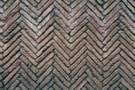 aged brick wall pattern for background 写真素材 - 104850354