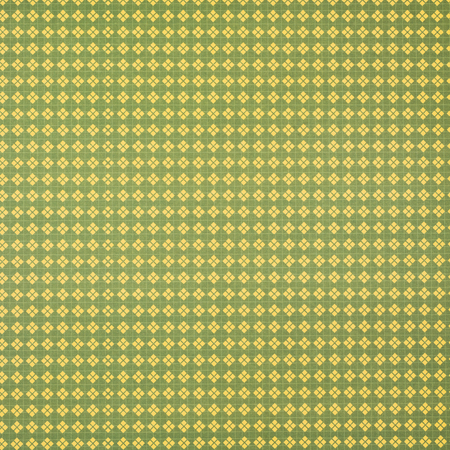 green wrapper design with yellow lozenges