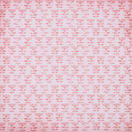 pink wrapper design with flowers pattern