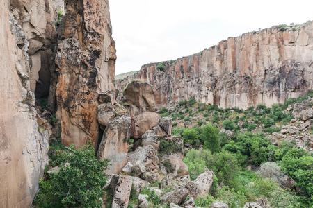 beautiful landscape in goreme national park, cappadocia, turkey
