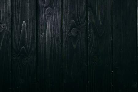 top view of dark wooden planks surface for background Reklamní fotografie