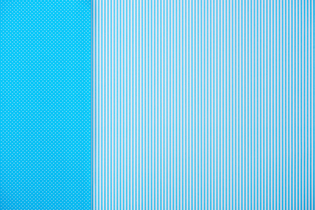 Abstract background with blue striped and polka dot patterns Banque d'images - 105709366