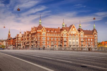 COPENHAGEN, DENMARK - MAY 6, 2018: scenic view of old building