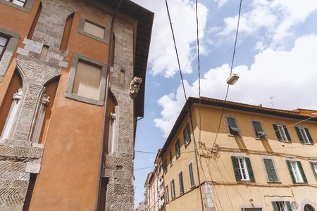 buildings in old european city, Pisa, Italy