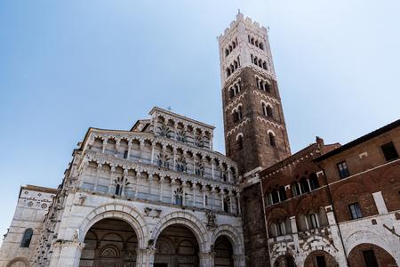 Roman Catholic basilica (San Michele in Foro) in Pisa, Italy