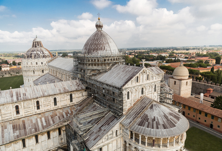 Cathedral on Square of Miracles (Piazza dei Miracoli) in Pisa, Italy